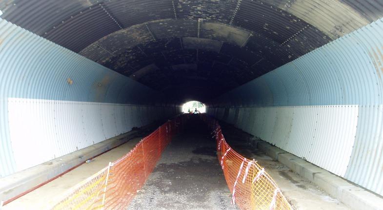 Tunel com Concreto Celular ECOPORE