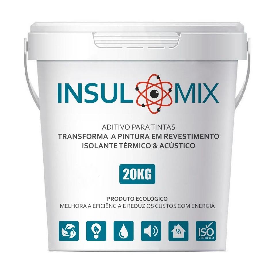 Aditivo INSULMIX - Transforma Qualquer Pintura em ISOLAMENTO TÉRMICO / ACÚSTICO