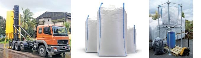ECO·DRY·MIX® - Fornecido em Silos Móveis e Big-Bags.