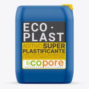 ECOPLAST - Aditivo Super Plastificante para Concretos, Argamassas e Artefatos Cimentícios.