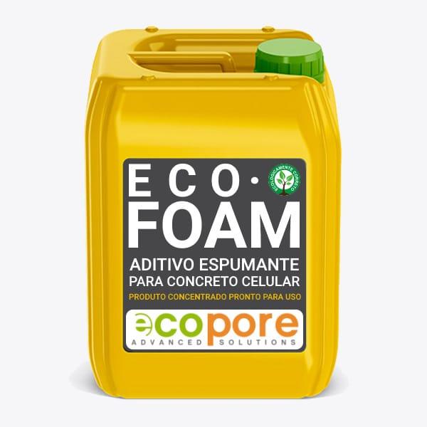 ECOFOAM·AIR - Agente Espumante para Concretos e Argamassas Celulares.