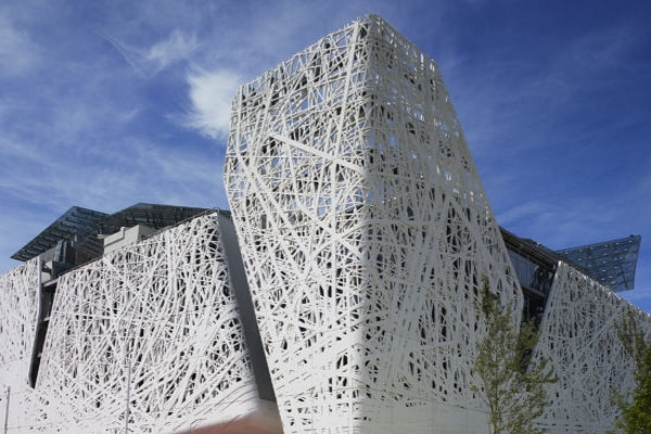 Concreto Biodinâmico ultra fluído para fachadas