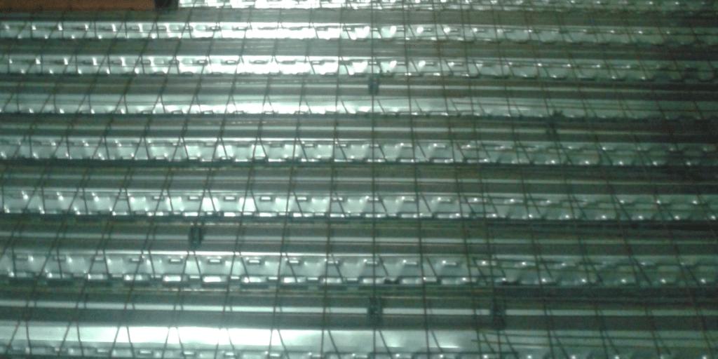 Correios AGF Jardim Brasil - Laje Steel-Deck com Concreto Celular ECOPORE