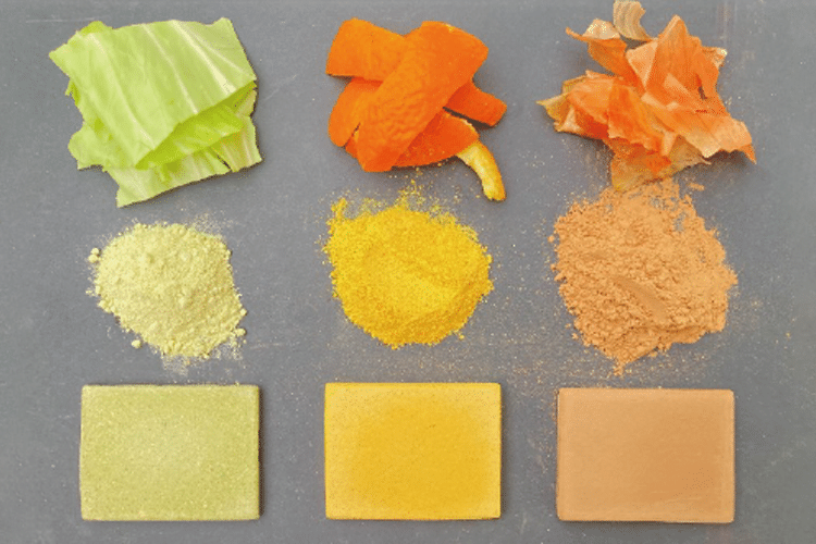 Cientistas transformam resíduos de alimentos em materiais de construção